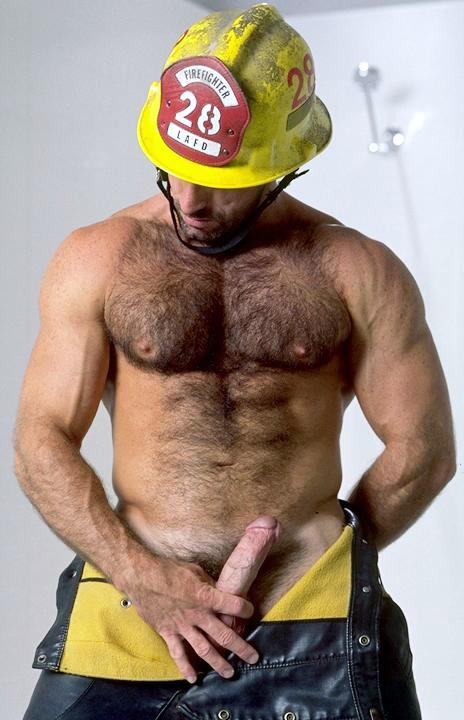 Horny fireman naked, sex picture the virgin
